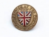 Service At The Front pin given to members of the Canadian Expeditionary Force, WW I