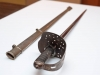 British 1896 pattern infantry officer's sword as worn by Canadian officers in WW. I. This sword was owned by Capt. Charteris, Canadian Army Medical Corps from Chatham