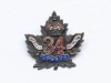 34th Battalion CEF sweetheart pin