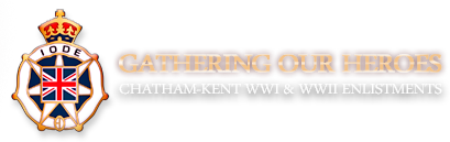 Gathering Our Heroes – Chatham-Kent's WWI & WWII Veterans